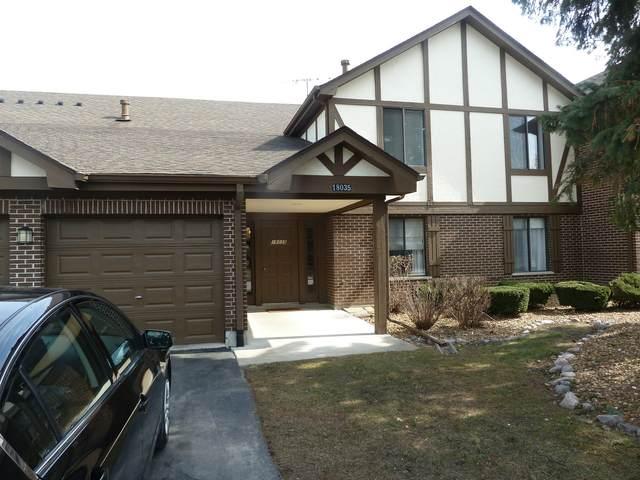18035 Royal Oak Court #1, Tinley Park, IL 60477 (MLS #11108403) :: Littlefield Group