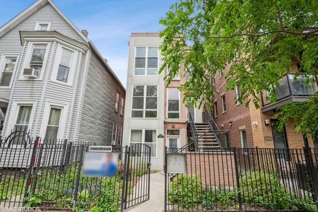 1845 N California Avenue #3, Chicago, IL 60647 (MLS #11116662) :: Carolyn and Hillary Homes