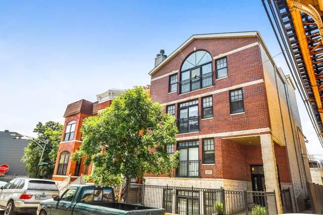 2314 W Moffat Street W #3, Chicago, IL 60647 (MLS #11117026) :: Lewke Partners