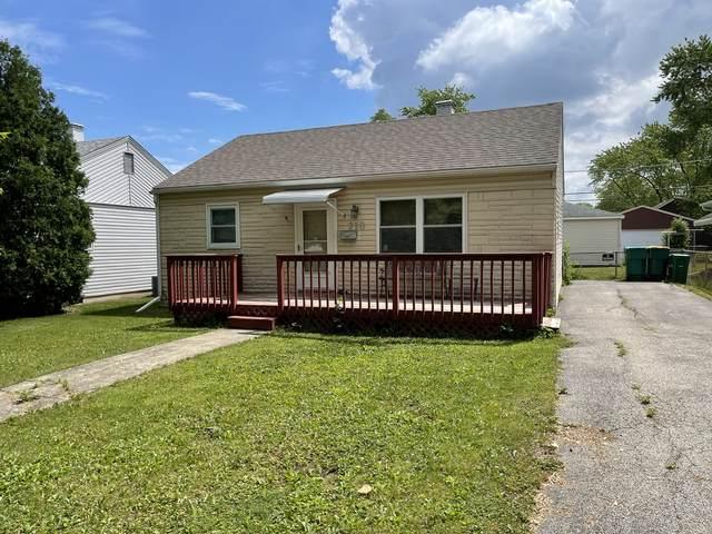 218 S Park Drive, Joliet, IL 60436 (MLS #11117520) :: Jacqui Miller Homes