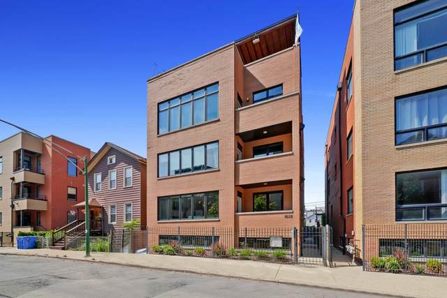 1522 W Fry Street #1, Chicago, IL 60642 (MLS #11117634) :: Angela Walker Homes Real Estate Group