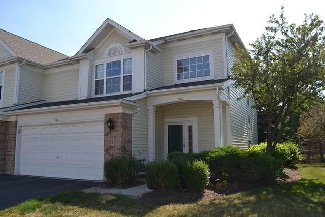 966 Huntington Drive #966, Elk Grove Village, IL 60007 (MLS #11119727) :: Suburban Life Realty