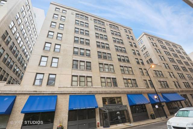 640 S Federal Street #506, Chicago, IL 60605 (MLS #11120045) :: O'Neil Property Group