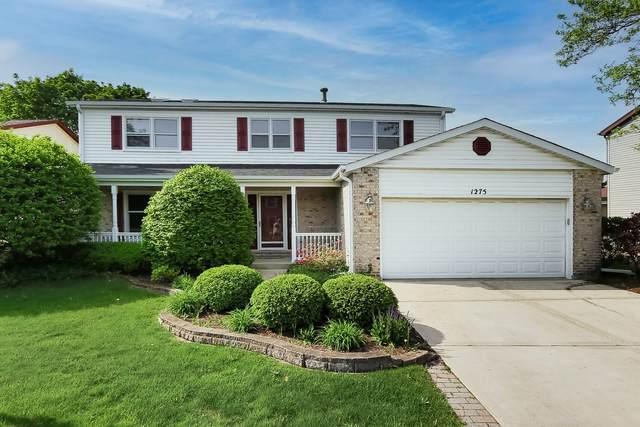 1275 W Dovington Drive, Hoffman Estates, IL 60169 (MLS #11120222) :: BN Homes Group