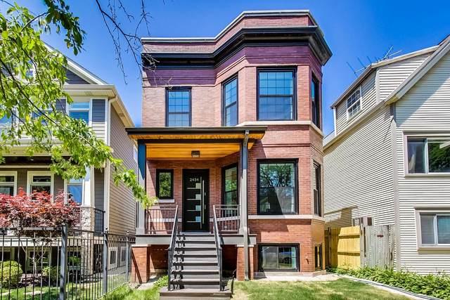 2434 W Belle Plaine Avenue, Chicago, IL 60618 (MLS #11120702) :: Lewke Partners