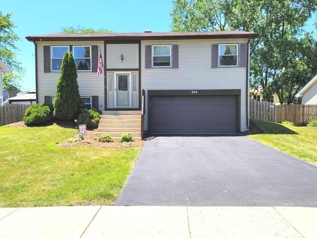 844 Prairie Avenue, Bartlett, IL 60103 (MLS #11121951) :: Ryan Dallas Real Estate