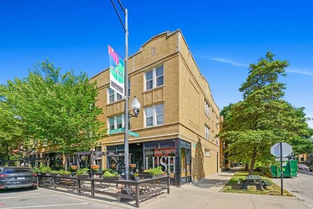2234 W Roscoe Street #3, Chicago, IL 60618 (MLS #11122374) :: Touchstone Group