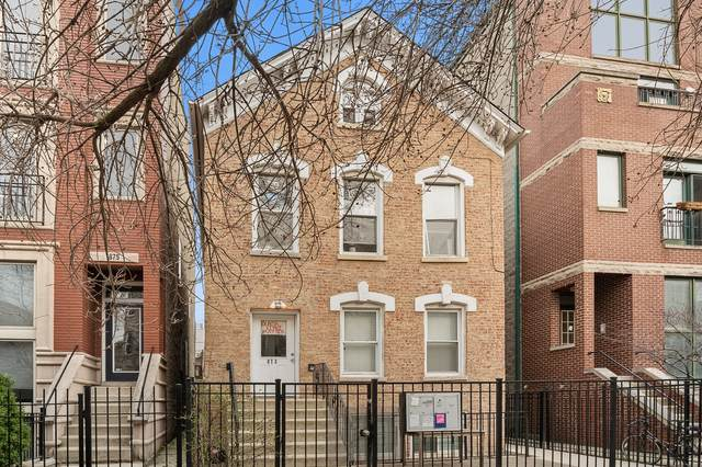 873 N Paulina Street, Chicago, IL 60622 (MLS #11122533) :: The Dena Furlow Team - Keller Williams Realty