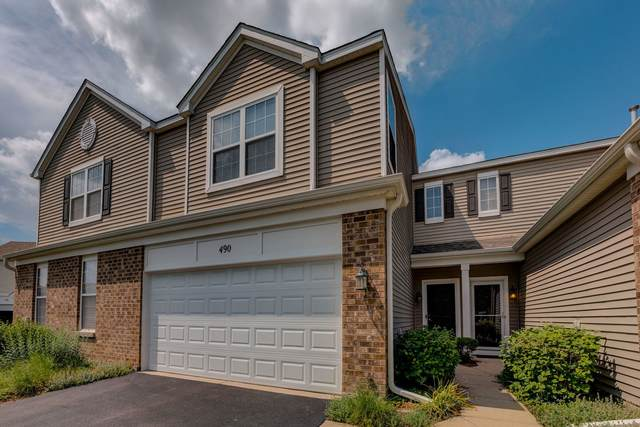 490 Brookside Drive #490, Oswego, IL 60543 (MLS #11122864) :: The Dena Furlow Team - Keller Williams Realty