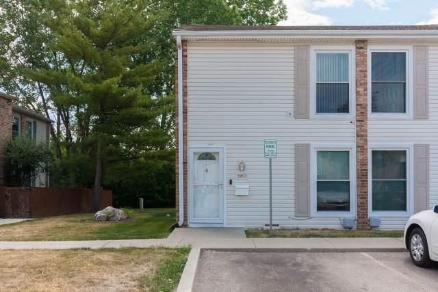 1963 Kenilworth Circle #1963, Hoffman Estates, IL 60169 (MLS #11123378) :: Touchstone Group