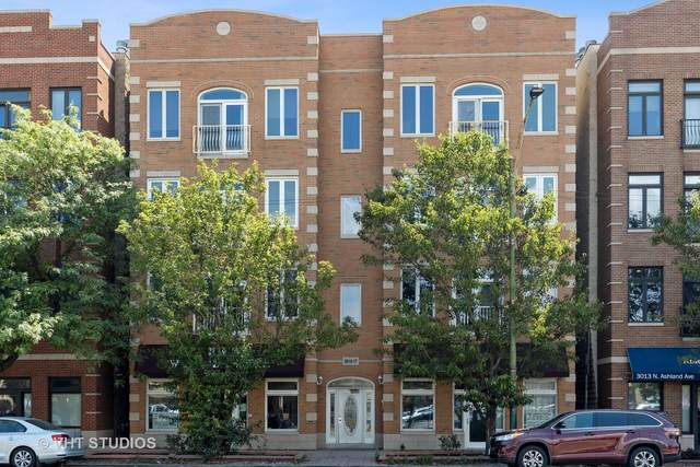 3015 N Ashland Avenue 2S, Chicago, IL 60657 (MLS #11123955) :: John Lyons Real Estate