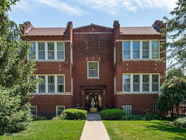 428 Wesley Avenue G, Oak Park, IL 60302 (MLS #11124220) :: Lewke Partners