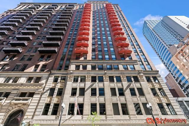 208 W Washington Street #1204, Chicago, IL 60606 (MLS #11125592) :: RE/MAX Next