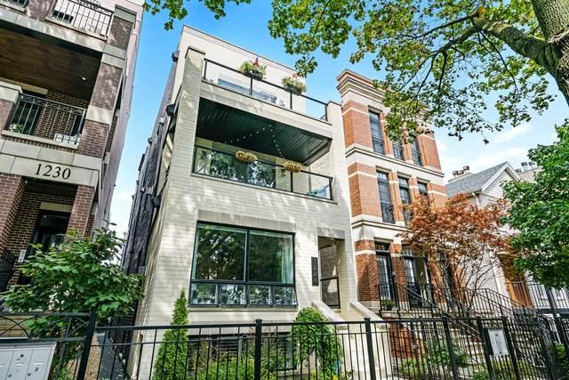 1228 W Melrose Street #3, Chicago, IL 60657 (MLS #11125905) :: John Lyons Real Estate