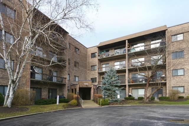 1400 N Elmhurst Road #110, Mount Prospect, IL 60056 (MLS #11126760) :: BN Homes Group