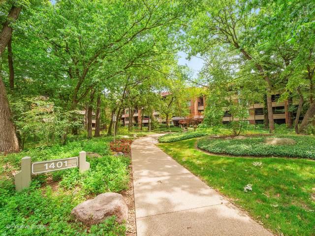 1401 Burr Oak Road 104C, Hinsdale, IL 60521 (MLS #11128293) :: The Wexler Group at Keller Williams Preferred Realty