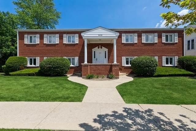509 N Dunton Avenue #2, Arlington Heights, IL 60004 (MLS #11128388) :: John Lyons Real Estate
