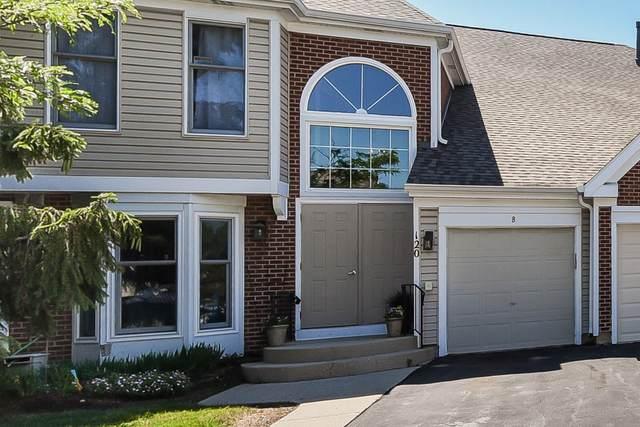 120 Red Fox Lane A, Elk Grove Village, IL 60007 (MLS #11129191) :: John Lyons Real Estate
