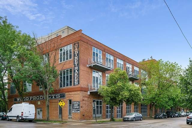 2111 W Churchill Street #311, Chicago, IL 60647 (MLS #11129917) :: Carolyn and Hillary Homes