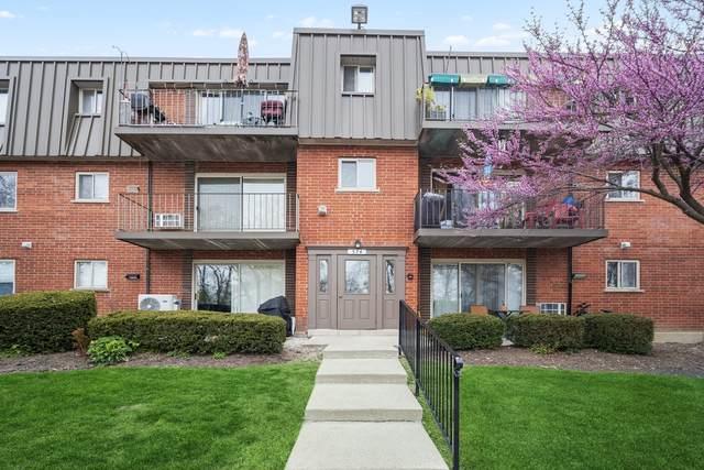 574 Fairway View Drive 1J, Wheeling, IL 60090 (MLS #11129932) :: John Lyons Real Estate