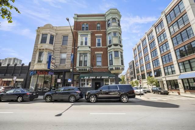 219 W North Avenue #3, Chicago, IL 60610 (MLS #11129936) :: The Spaniak Team