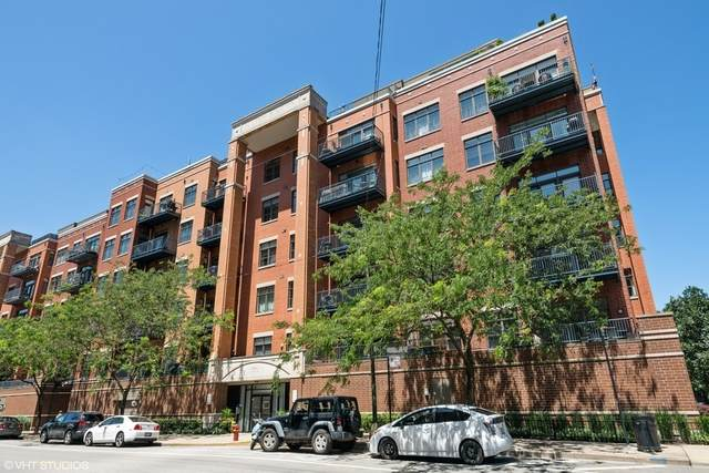 550 W Fulton Street #204, Chicago, IL 60661 (MLS #11130383) :: Angela Walker Homes Real Estate Group