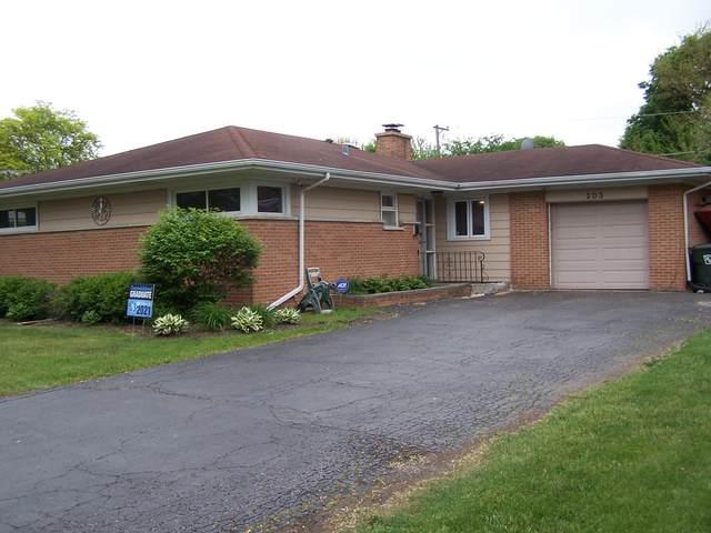 203 E Berkshire Lane, Mount Prospect, IL 60056 (MLS #11130646) :: Angela Walker Homes Real Estate Group