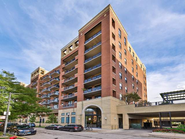 811 W 15th Place #510, Chicago, IL 60608 (MLS #11130675) :: Angela Walker Homes Real Estate Group