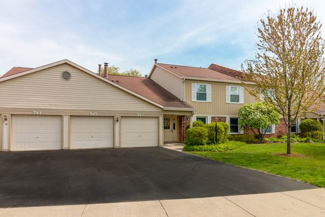 741 N Deer Run Drive #741, Palatine, IL 60067 (MLS #11131448) :: Suburban Life Realty