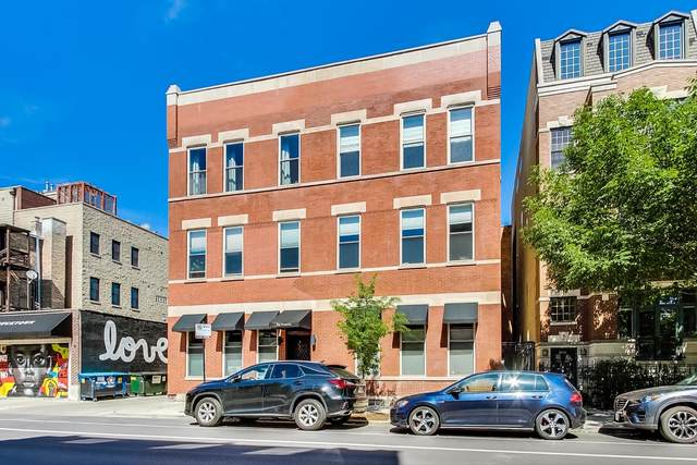 1857 N Damen Avenue 3N, Chicago, IL 60647 (MLS #11133655) :: John Lyons Real Estate