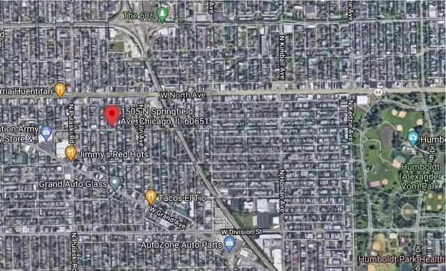 1505 N Springfield Avenue, Chicago, IL 60651 (MLS #11133657) :: John Lyons Real Estate