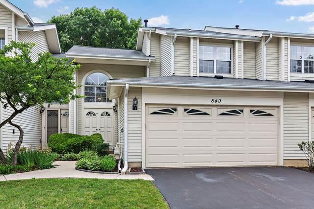 849 Dighton Lane, Schaumburg, IL 60173 (MLS #11134157) :: John Lyons Real Estate