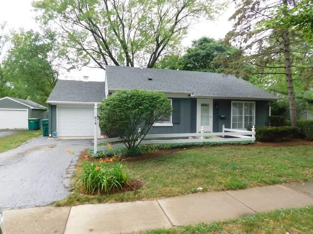 216 Raupp Boulevard, Buffalo Grove, IL 60089 (MLS #11134315) :: John Lyons Real Estate