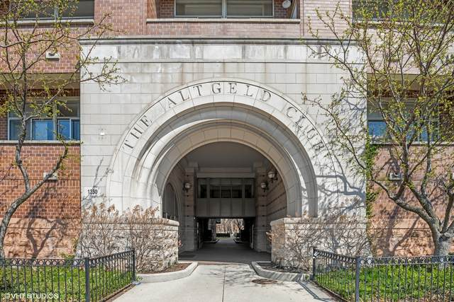 1350 W Fullerton Avenue #409, Chicago, IL 60614 (MLS #11134386) :: John Lyons Real Estate