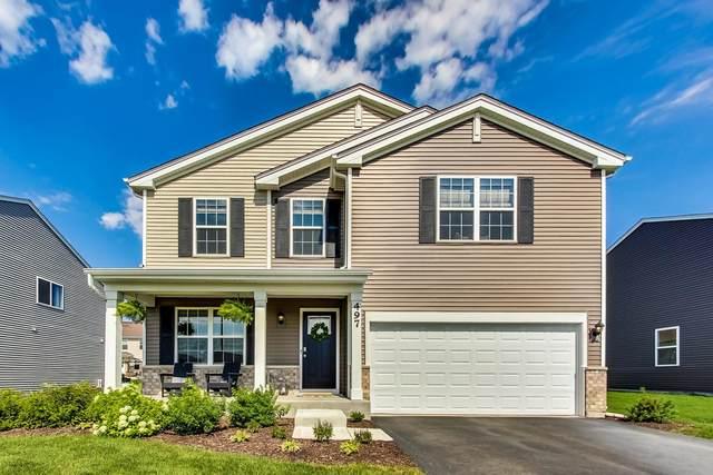 497 S Stone Bluff Drive, Romeoville, IL 60446 (MLS #11136660) :: O'Neil Property Group