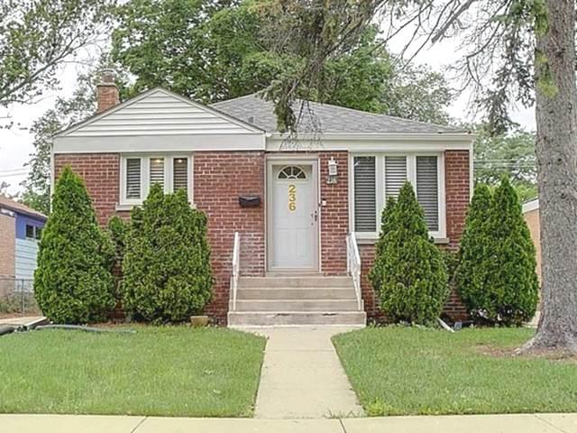 236 Linden Avenue, Bellwood, IL 60104 (MLS #11143636) :: Angela Walker Homes Real Estate Group