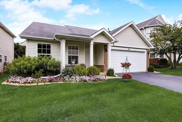 417 Claire Avenue, Romeoville, IL 60446 (MLS #11145719) :: O'Neil Property Group