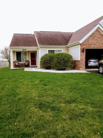 609 Briarcliff Drive #609, Minooka, IL 60447 (MLS #11146588) :: Suburban Life Realty