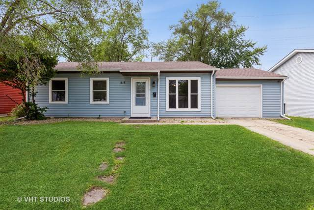 218 Hemlock Avenue, Romeoville, IL 60446 (MLS #11147876) :: Carolyn and Hillary Homes