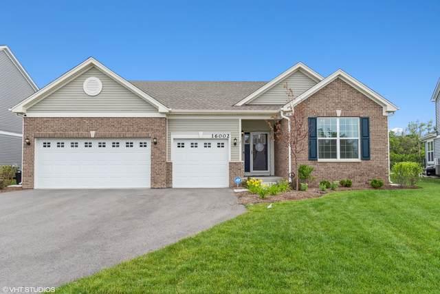 16002 S Selfridge Circle, Plainfield, IL 60586 (MLS #11149081) :: Jacqui Miller Homes