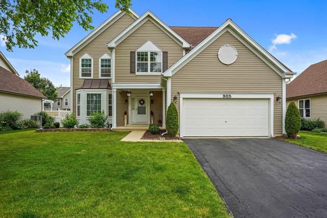 985 Teasel Lane, Aurora, IL 60502 (MLS #11151339) :: O'Neil Property Group