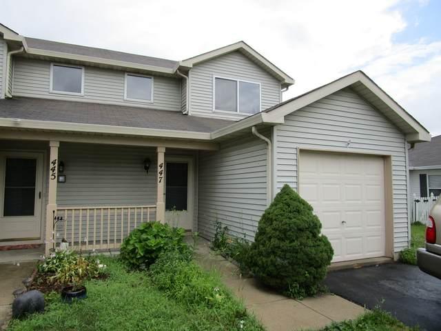 447 Newport Circle, Oswego, IL 60543 (MLS #11153759) :: O'Neil Property Group