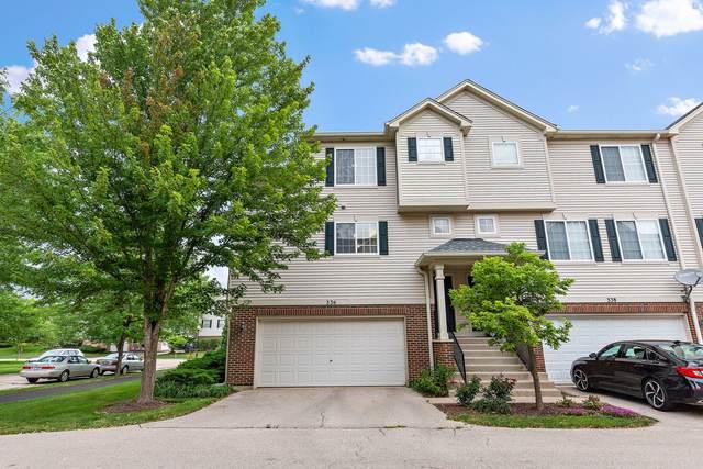 336 Evergreen Circle #336, Gilberts, IL 60136 (MLS #11155781) :: Suburban Life Realty