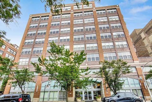 933 W Van Buren Street #504, Chicago, IL 60607 (MLS #11160194) :: Jacqui Miller Homes
