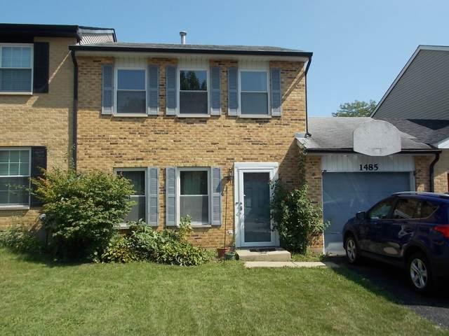 1485 Walnut Circle, Carol Stream, IL 60188 (MLS #11160213) :: John Lyons Real Estate