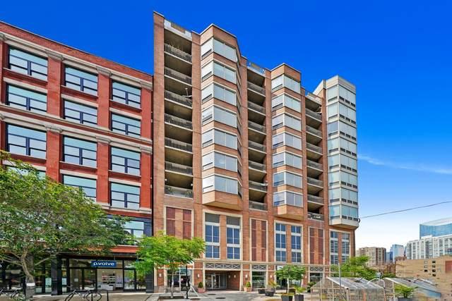 720 W Randolph Street #701, Chicago, IL 60661 (MLS #11160525) :: Lux Home Chicago