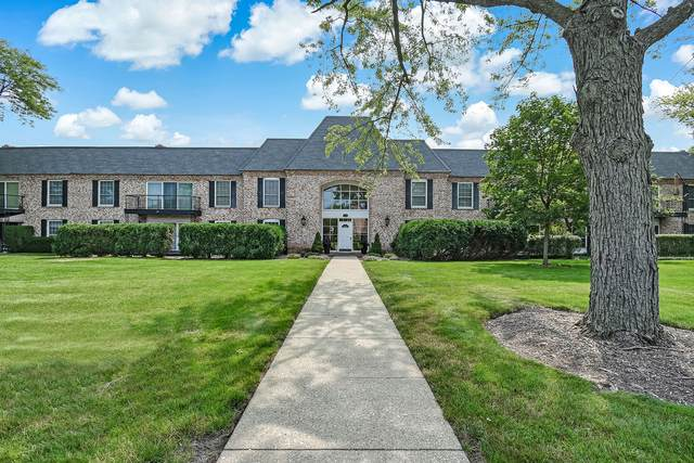 140 Carriage Way Drive C124, Burr Ridge, IL 60527 (MLS #11163138) :: The Wexler Group at Keller Williams Preferred Realty