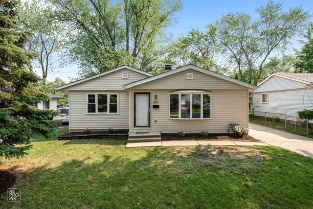 847 S Fletcher Drive, Wheeling, IL 60090 (MLS #11163776) :: O'Neil Property Group