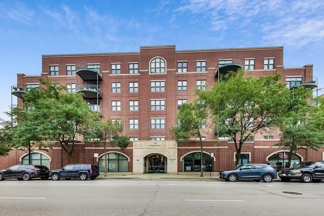 1301 W Washington Boulevard #605, Chicago, IL 60607 (MLS #11164002) :: Lux Home Chicago