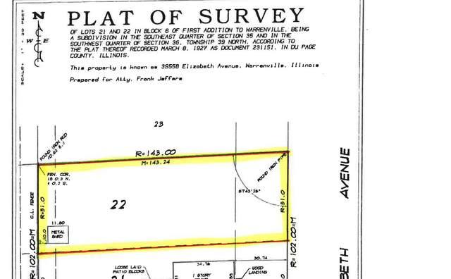 North Lot - 3S558 Elizabeth Avenue, Warrenville, IL 60555 (MLS #11164486) :: O'Neil Property Group